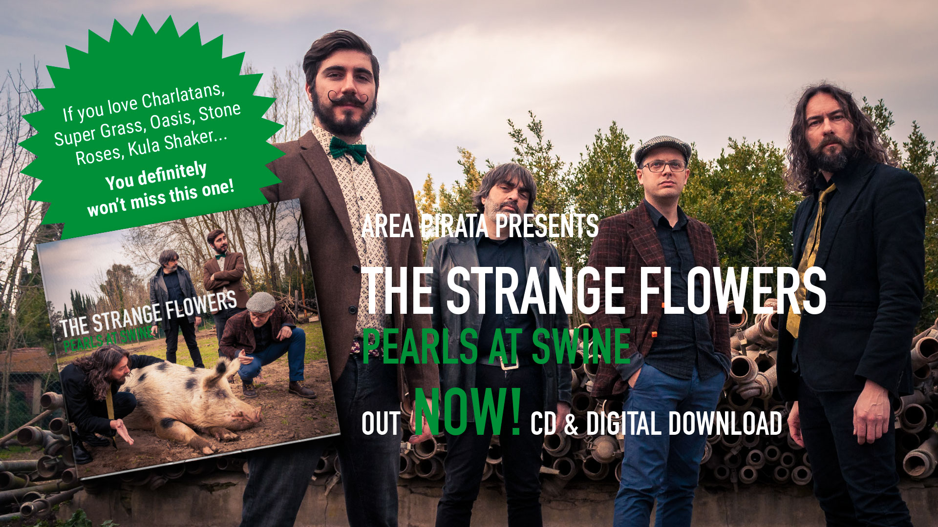 Pearls At Swine out Now!