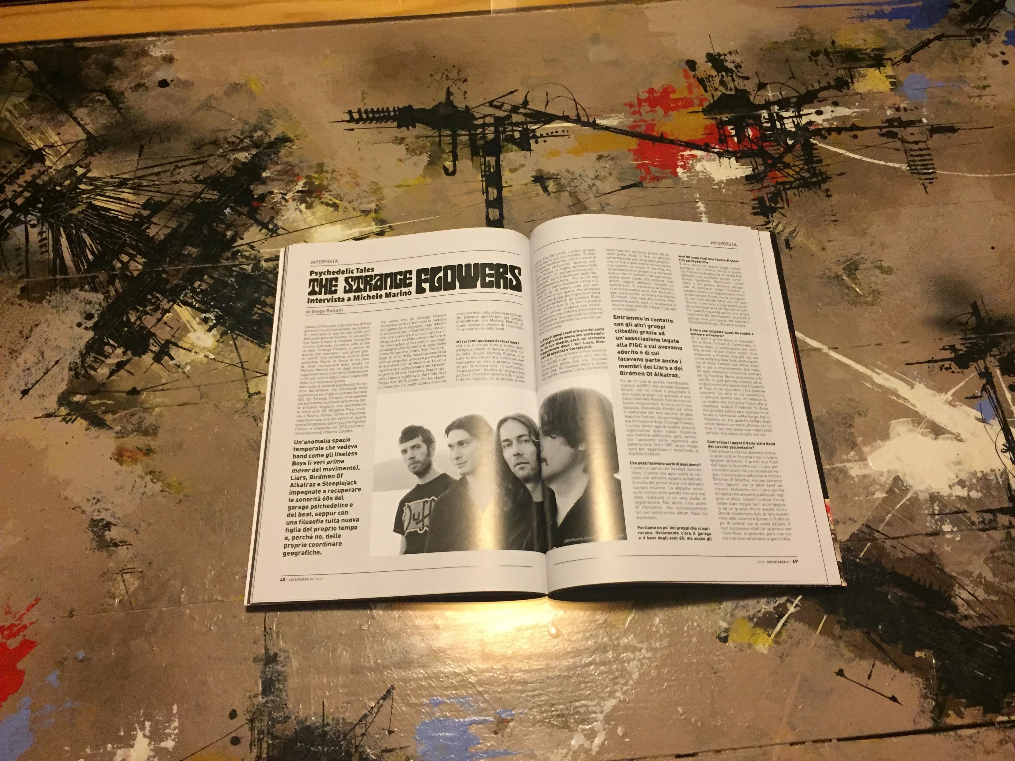 Interview in Sottoterra RockZine